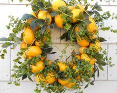 I realy love this Lemon Wreath.....
