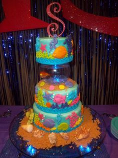 Under the Sea Cake. I like this without the live fish