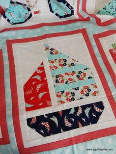 A Quilting Life - a quilt blog: Snapshots: Sail Boat Quilt Block