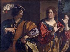 Amnon scaccia Tamar Guercino