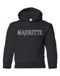 rhinestone majorette hoodie