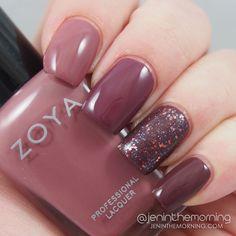 Zoya Naturel Deux Ombre nails