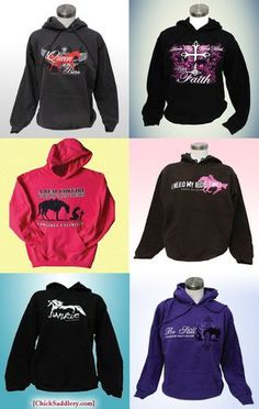 Horse hoodies! | ChickSaddlery.com