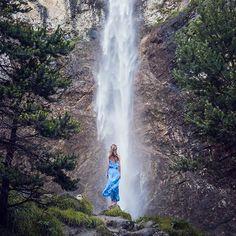 @anna_piccarreta Saint Benoit waterfall near La Norma