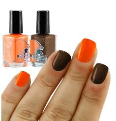 Cleveland Browns nail polish!!! Yes please!!