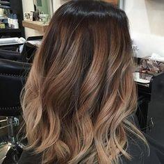 "4,196 curtidas, 135 comentários - Dope Hair Beehash Boston (@imallaboutdahair) no Instagram: ""Cool caramel #Balayage @studioposh29 """