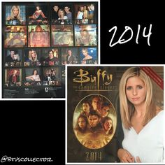 Buffy the Vampire Slayer - 2014 Calendar  #btvscollector #btvs #buffy #buffythevampireslayer
