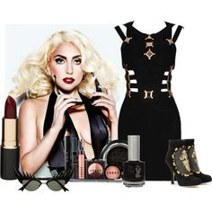 """Go Big For Gaga"" by crystal-smith-1 on Polyvore"