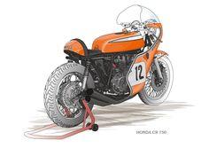HONDA CR750 for Daytona
