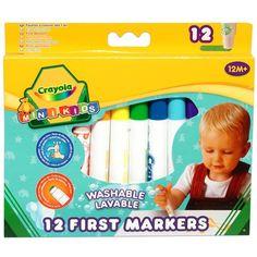 Crayola - hrubé umývateľné fixky First Markers 12ks