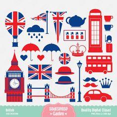Imprimolandia: London Clipart
