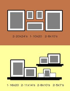 Genius! Need to remember this website when I have pictures to hang... so many good arrangements