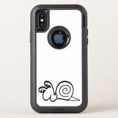 cute baby animal fun joy happy beautiful OtterBox defender iPhone x case - fun gifts funny diy customize personal