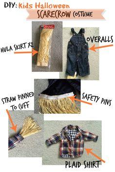 DIY Halloween Scarecrow costume