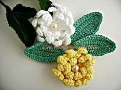 Resultado de imagem para croche flores
