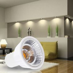 """Halogen Shaped """"Kulad"""" Lens with international patent -- 100% retrofit design.CRI can be up to 95, nearly the same as conventional halogen lamp -- 100% retrofit design 3.0-100% smoothly dimmable and match both leading and trailing edge triac dimmers.Safer housing with new bio-tech high polymer clad aluminum,perfect thermal management and anti-electric leakage.Power factor could be up to 0.92 6.2400K color temperature is available for some special project.Very high light efficiency--up to…"""