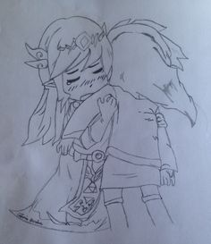 Zelda and Toon Link Spirit Tracks