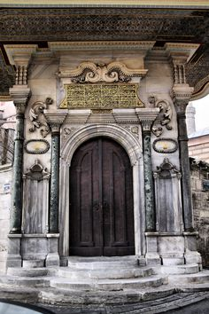 Old door by MustafaSEZER Photography / Architecture / The palace gate of Hagia Sophia, Istanbul / TURKEY Entrance Doors, Doorway, Porch Windows, When One Door Closes, Cool Doors, Hagia Sophia, Mosques, Cathedrals, Closed Doors
