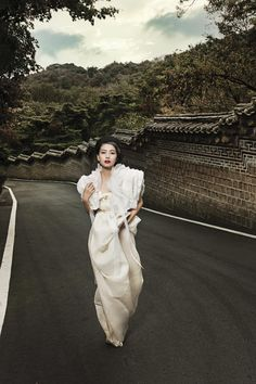 Gao Yuanyuan by Brandon for Harper's Bazaar China January 2011