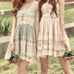 Pretty boho dresses, bohemian fashion