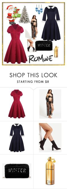 """ROMWE  1"" by fatimazbanic ❤ liked on Polyvore featuring Montale"