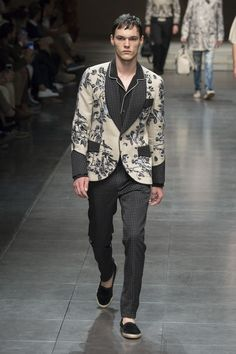 LOOK | 2016 SS MILAN MEN'S COLLECTION | DOLCE&GABBANA | COLLECTION | WWD JAPAN.COM
