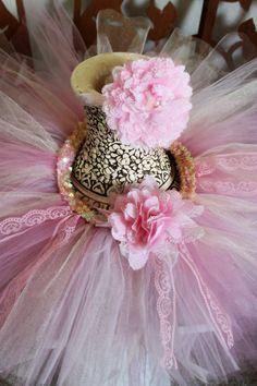 Tutus Light Pink lace vintage pastel spring smash cake easter tutu. Princess pink tutu set.. lace flower https://www.etsy.com/listing/185106539/perfectly-pink-tutu-set