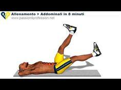 esercizi addominali laterali in piedi | Allenamento Addominali Bassi