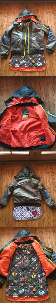 Coats and Jackets 26346: Womens Burton Snowboard Jacket L.A.M.B Cherry Bomber .Size Small -> BUY IT NOW ONLY: $248 on eBay!