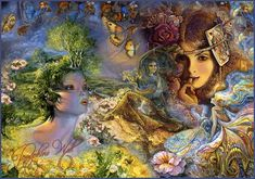 josephine wall art | Art by Josephine Wall_1 by ~Basset0410 on deviantART