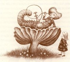 "Ukrainian artist / Владислав Єрко. Ілюстрація до книги ""Аліса в Країні Чудес / Alice's Adventures in Wonderland illustrated by Vladyslav Yerko. Book illustration. Children's book"