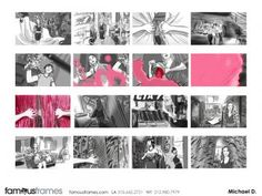 FamousFrames Storyboards, Animatic Artists, Storyboard Artists, Mike Deweese