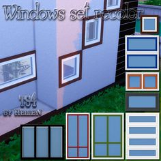 Windows set recolor by HelleN.