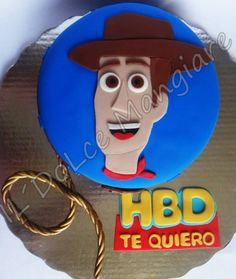 woody cake idea / idea para pastel de woody   https://instagram.com/dolcemangiare/ https://twitter.com/dolcemangiare