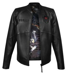 """Star Wars Imperial """"TIE Pilot"""" Leather Jacket"""