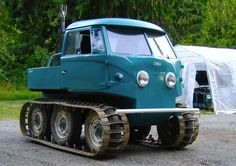 Unidentified Ugly-looking Vehicle