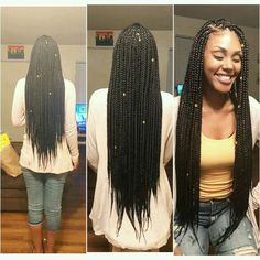 Long Medium Box Braids Boxbraids Ibraidamber Ig Hair with proportions 1660 X 1660 Long Box Braids Hairstyles Pictures - Braids are back however you like. Big Box Braids, Medium Box Braids, Box Braids Styling, Hair Medium, Styling Tools, Medium Long, Long Braids, Box Braids Hairstyles, My Hairstyle