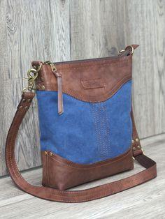 Elena Grishina: Сумочка Indigo Canvas and leather bag #canvas #Leather #bag #canvasbag #leatherbag #bigbag #leatherbag #canvas #grishinastudio