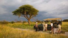 Sundowners at Sandibe Safari Lodge, Okavango Delta, Botswana
