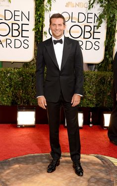 Bradley Cooper at the Golden Globes.