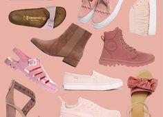 Ich sucht rosa Schuhe? Dann seid ihr hier richtig. Wir haben für euch das Netz durchstöbert und von Ankle Boot bis Slipper alles in rosa gefunden.