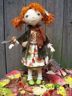 Коллекционные куклы ручной работы. Ярмарка Мастеров - ручная работа Полина(продана). Handmade.