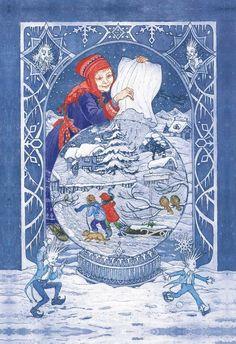 The Snowstorm by Debra McFarlane http://www.illustrationcupboard.com/illustration.aspx?iId=2833