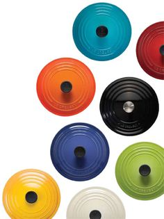 Le Creuset. I need to get a smaller one so I can use it in my tiny apt kitchen.