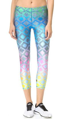 Terez Find Your Tribe Performance Capris