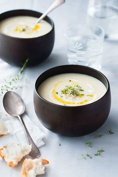 Creamy Dreamy Cauliflower Soup