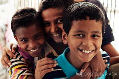 Living with joy in a slum. These children live in a slum, but they have the joy and hope of Christ transforming their lives.