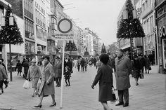 Schildergasse Cologne Germany, Dom, Street View, Photography, Post War Era, Old Town, Rheinland, Hiking, Nostalgia