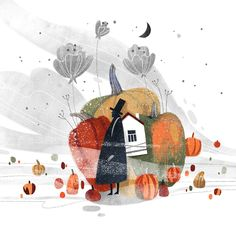 Autumn illustration part 2 on Behance