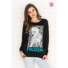 Get the latest trends in women's clothing at Ardene. Shop fashion tops, bottoms, dresses, and more in a variety of styles, fabrics and prints for all seasons. Girl Outfits, Fashion Outfits, Womens Fashion, Latest Trends, Frozen, Topshop, Graphic Sweatshirt, Pullover, Clothes For Women